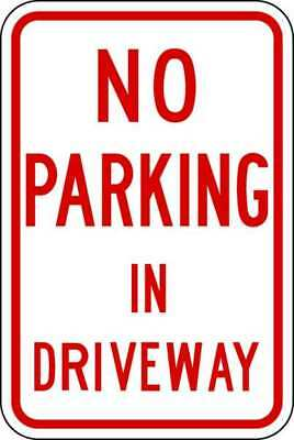 Parking Sign,18 x 12In,R/WHT,Text LYLE LR7-28-12HA