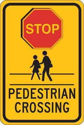 Traffic Sign,18 x 12In,Blk and Red/Yllw BRADY 124395