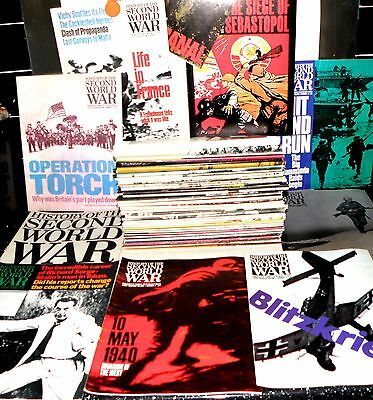 History Of The Second World War- 96 Parts, Full Set, Magazines, Collectible 1967