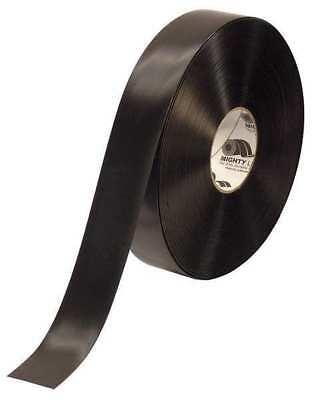 "Black Industrial Floor Tape, Mighty Line, 2RBLK2""W"
