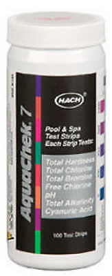 AquaChek® Silver 7-Way Swimming Pool and Spa Test Strips 551236