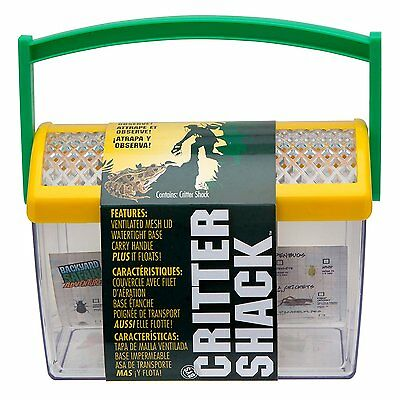 Backyard Safari Critter Shack For Collect & Observe Frog, Lizards, Fish and Bugs