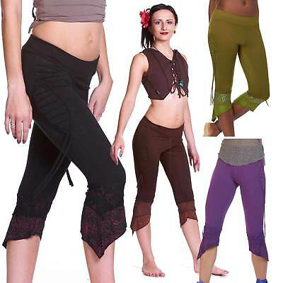 Psy Leggings, Pixie Trance Leggins, Hippy Festival Tribal Clothing, Woodland Fae