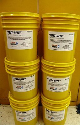 """Fuel Injector """"TESTRITE"""" calibration fluid 5 gallons perfect for ASNU machine!"""