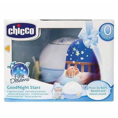 Chicco Goodnight Stars Projector Baby Night Light with Music (Blue)