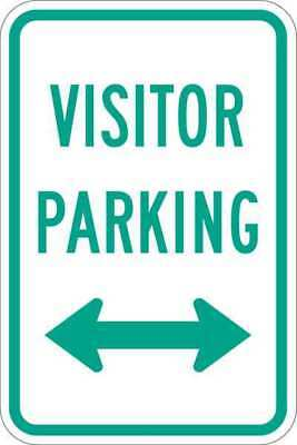 Sign,Visitor Parking,18 x12 In LYLE T1-1040-EG_12x18