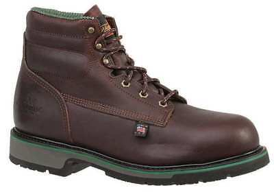 Size 10-1/2 Work Boots, Unisex, Brown, Steel Toe, E, Thorogood Shoes