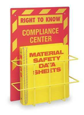 BRADY 2010 Right to Know Compliance Center,14 In. W