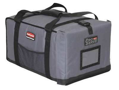 RUBBERMAID FG9F1200CGRAY Insulated Carrier, 18 1/4x 27x 16, Gray