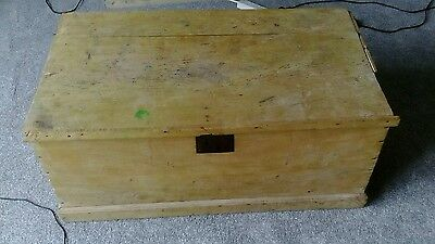 Wooden Storage Chest/Box (vintage/antique?)
