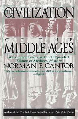 Civilization of the Middle Ages by Norman F. Cantor (English) Paperback Book Fre