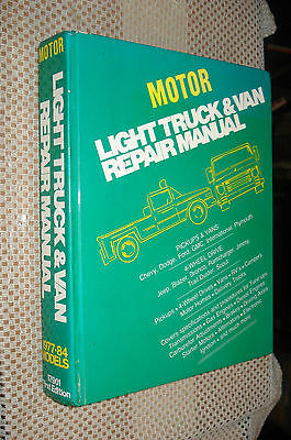 1977-1984 Truck Service Manual Shop Book Ih Mack Dr Chevy Ford Dodge 79 80 81 78