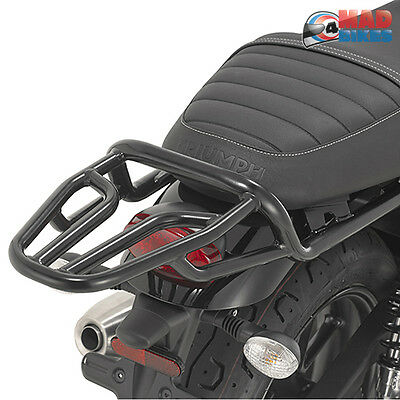 Triumph Street Twin 900 2016 2017 New Givi Luggage Carrier, Luggage Rack