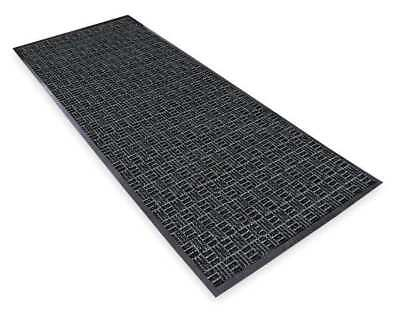 NOTRAX 167S0046CH Carpeted Entrance Mat, Charcoal, 4 x 6 ft.