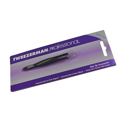 Tweezerman Professional Slant Tweezerette 1110-CP Black