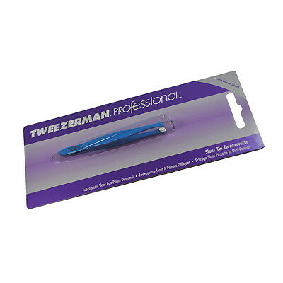 Tweezerman Professional Slant Tweezerette 1110-CP Blue