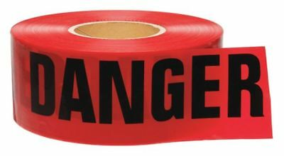 Red/Black Barricade Tape, Brady, 91201
