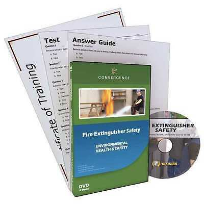 CONVERGENCE TRAINING 127 Fire Extinguisher Safety, DVD