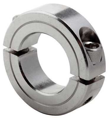 CLIMAX METAL PRODUCTS 2C-075-S Shaft Collar,Clamp,2Pc,3/4 In,SS