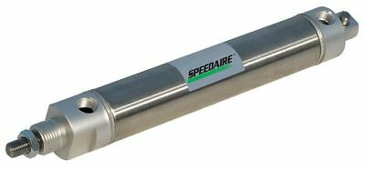 "1-1/4"" Bore Round Double Acting Air Cylinder 12"" Stroke SPEEDAIRE NCDMC125-1200"