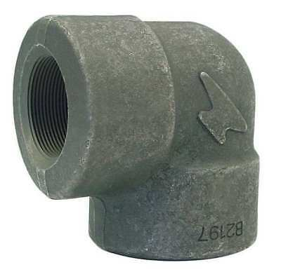 """1/2"""" FNPT Forged Steel 90 Degree Elbow ANVIL 0361200801"""