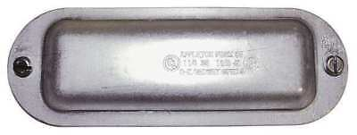 APPLETON ELECTRIC K125&150 Cover, 1-1/2In, Steel, Form 35