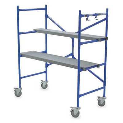 Portable Scaffold, 4 ft. H, Steel WERNER PS-48