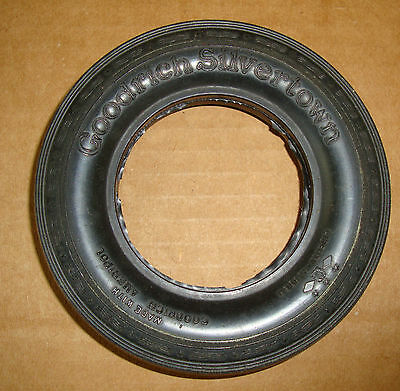 Rare Goodrich Silvertown Miniature Rubber Tire Only For Glass Ash Tray