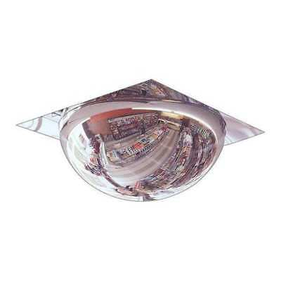 Full Dome Mirror,22In.,Acrylic,No Back ZORO SELECT 1WRP5