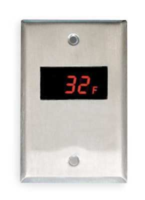 Switch Plate Thermometer, Weiss, 24DT-S0F0