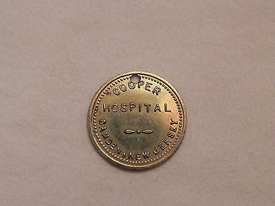 Cooper Hospital, Camden, New Jersey Token lot#N716