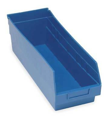 "Blue Shelf Bin, 17-7/8""L x 6-5/8""W x 6""H QUANTUM STORAGE SYSTEMS QSB204BL"