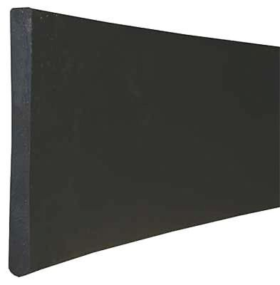 Round Edge Replacement Squeegee Blade, Black ,Tough Guy, SP50071GR