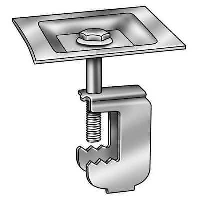 GRATING FASTENERS YSSGG-1A Grating Clip, Square, 1 Bar H, PK 50
