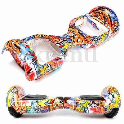 "Plastic Graffiti Case Cover Shell For 6.5"" Smart Self Balance Electric Scooter"