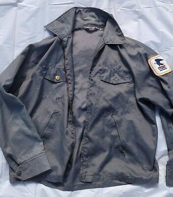 Vintage USA Men's Post Office Letter Carrier Mailman windbreaker jacket Large