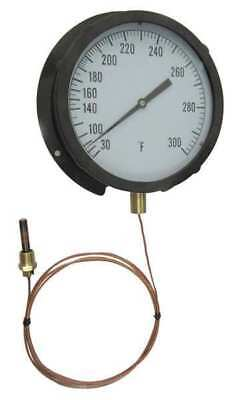 13G229 Analog Panel Mt Thermometer, 200 to 450F