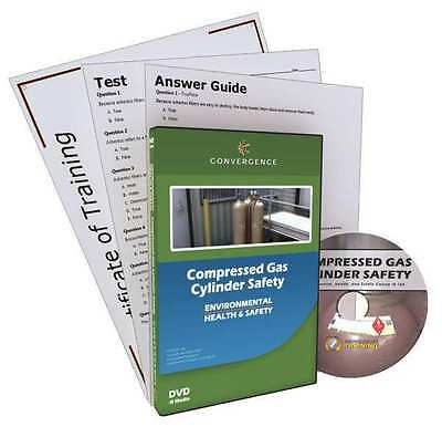 CONVERGENCE TRAINING 164 Compressed Gas Cylinder Safety, DVD