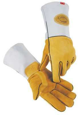 Caiman Size M Welding Gloves,1858-4