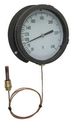 13G214 Analog Panel Mt Thermometer, 200 to 450F