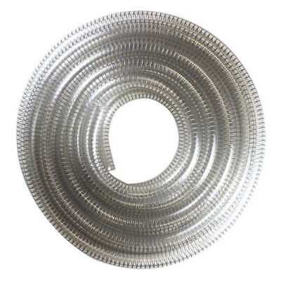 Suction and Transfer Hose,25 ft.,Clear E. JAMES 1530-375625