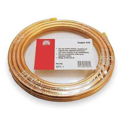 """MUELLER INDUSTRIES 653R 1/4"""" OD x 50 ft. Coil Copper Tubing Type ACR"""