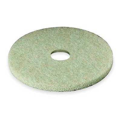 3M 5000 Preburnishing Pad, 20 In, Green, PK 5