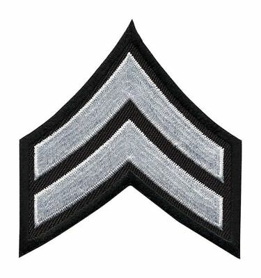 HEROS PRIDE 5400C Embroidered Patch, CPL, White on Black, PR