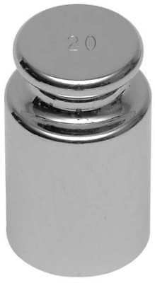 OHAUS 80850128 Calibration Weight, 1000g, Stainless Steel