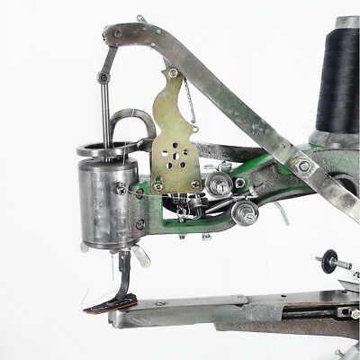 Manual Cobbler Shoe Repair Machine Dual Cotton Nylon Line Sewing Machine Tool