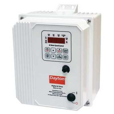 Variable Frequency Drive,3 HP,208-240V DAYTON 13E653