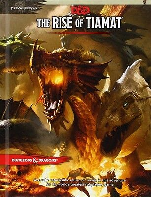 D&D Rise Of Tiama - Wizards Rpg Team (2014, Book New)