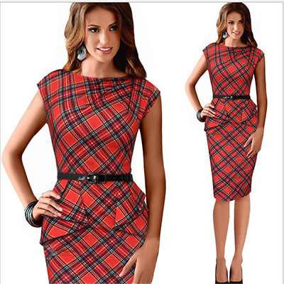 Sleeveless Dress Party Wear Dresses Elegant  Women's Red lattice Summer Sexy