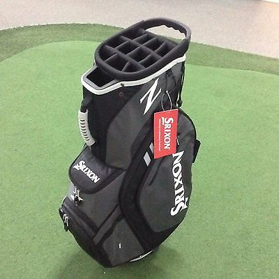 SRIXON Z Cart Bag 15 Hole Top with Full Length Dividers - Cooler - Charcoal